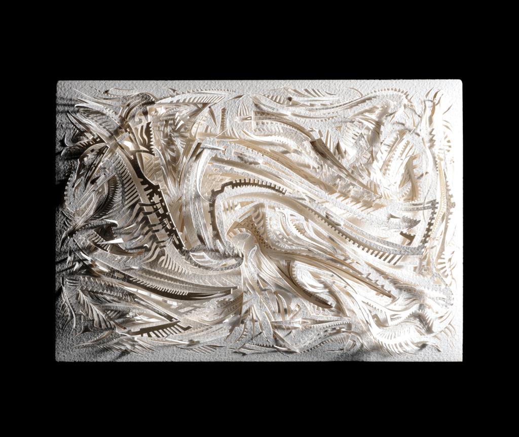 Ode paper carving fernando apodaca