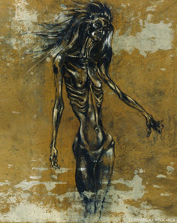 Anorexic Horny Girl / Apodaca